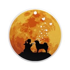 Tibetan-Mastiff22 Round Ornament