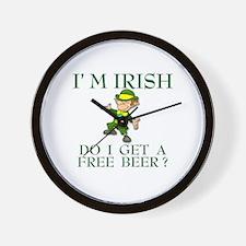 Free Beer? Wall Clock
