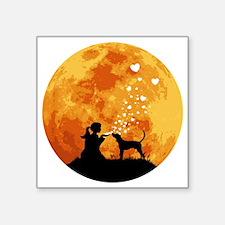 """Treeing-Walker-Coonhound22 Square Sticker 3"""" x 3"""""""
