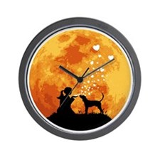 Treeing-Walker-Coonhound22 Wall Clock