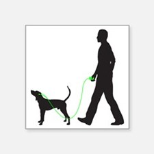 "Treeing-Walker-Coonhound34 Square Sticker 3"" x 3"""