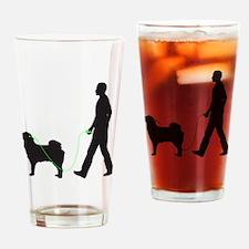 Tibetan-Mastiff34 Drinking Glass
