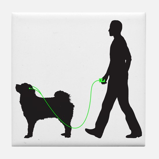 Tibetan-Mastiff34 Tile Coaster