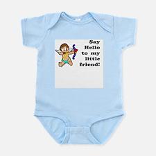 Little Friend Vday Infant Bodysuit