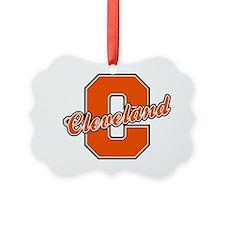 Cleveland Letter Ornament