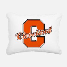 Cleveland Letter Rectangular Canvas Pillow