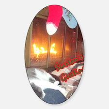 Cuddles Sticker (Oval)