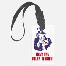 Welsh-Terrier18 Luggage Tag