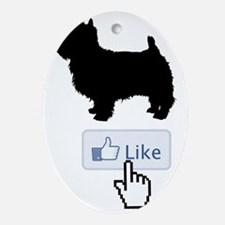 West-Highland-White-Terrier20 Oval Ornament