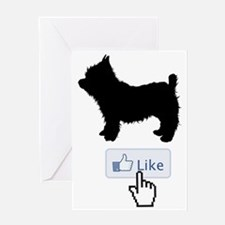 Yorkshire-Terrier20 Greeting Card
