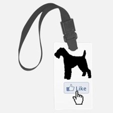 Welsh-Terrier20 Luggage Tag
