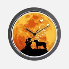 Wirehaired-Pointing-Griffon22 Wall Clock
