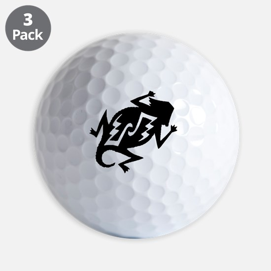 horny toad_b Golf Ball