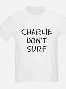 Charlie Don't Surf Kids T-Shirt