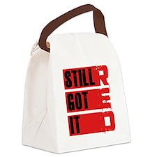 red still got it2 Canvas Lunch Bag