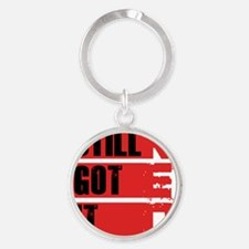red still got it2 Round Keychain