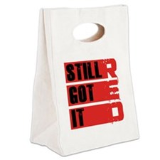 red still got it2 Canvas Lunch Tote