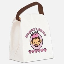2-mommysmonkey Canvas Lunch Bag