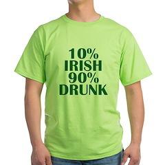 10% Irish T-Shirt