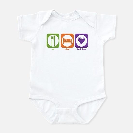 Eat Sleep Kettle Drum Infant Bodysuit