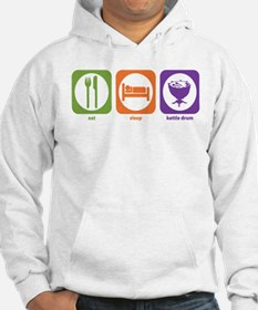 Eat Sleep Kettle Drum Jumper Hoody