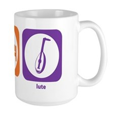 Eat Sleep Lute Ceramic Mugs