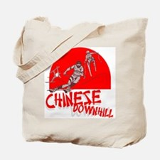 Chinese Downhill Tote Bag