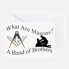 MasonBOB copy Greeting Card