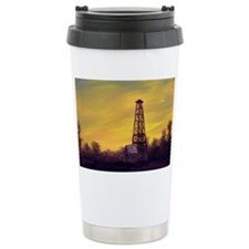 old derick sunset large framed  Travel Mug