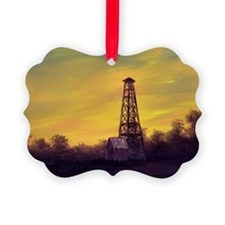 old derick sunset large framed pr Ornament
