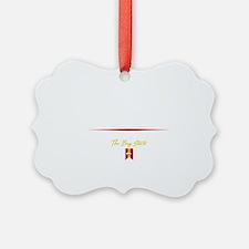 Boston Script B Ornament