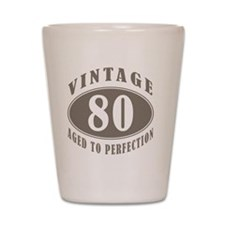 vintageBr80 Shot Glass