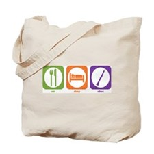 Eat Sleep Oboe Tote Bag