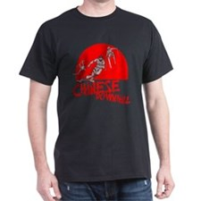 Chinese Downhill Black T-Shirt