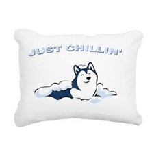 just_chillin2 Rectangular Canvas Pillow