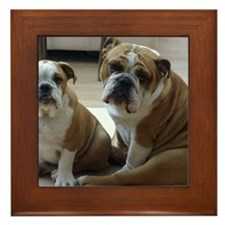 0 - cover - its_a_dogs_life_002 Framed Tile