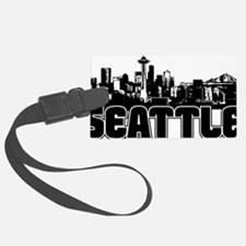 Seattle Skyline Luggage Tag
