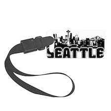 Seattle Skyline Luggage Tag