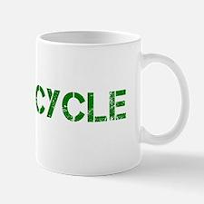 Go Green Recycle Congress Dark Mug