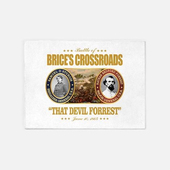 Brice's Crossroads 5'x7'Area Rug