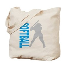 2-play softball bb(blk) Tote Bag