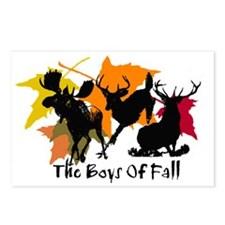 The Boys Of Fall Postcards (Package of 8)