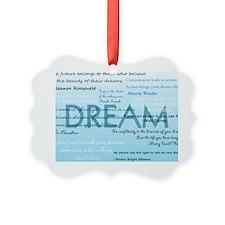 DreamsPostCard Picture Ornament