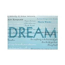 DreamsPostCard Rectangle Magnet