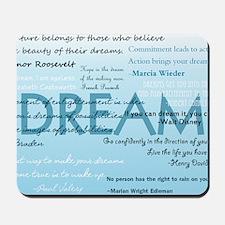 DreamsPostCard Mousepad