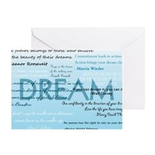 DreamsPostCard Greeting Card