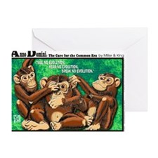 3MONKEYS-FINAL Greeting Card