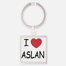 ASLAN Square Keychain
