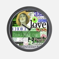 2-choice16x20smposter Wall Clock