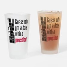 Quips_Prostitute_lite-crop Drinking Glass